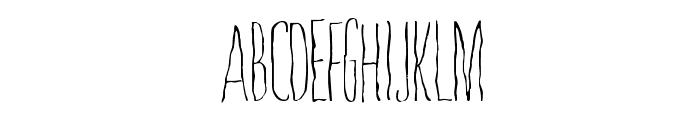 Whisperings Font UPPERCASE