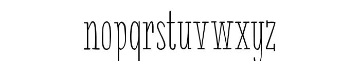 White Festive Demo Font LOWERCASE