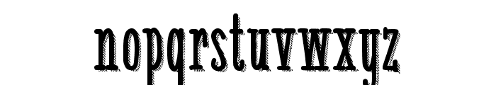 White Festive Shadow Demo Font LOWERCASE