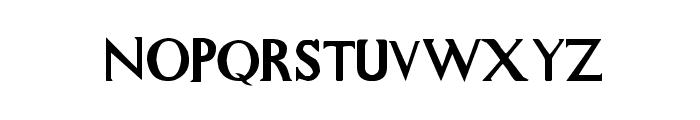 Whitelighter Font LOWERCASE