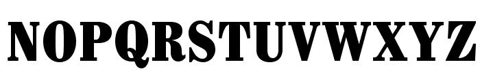Whitin-CondensedBlack Font UPPERCASE