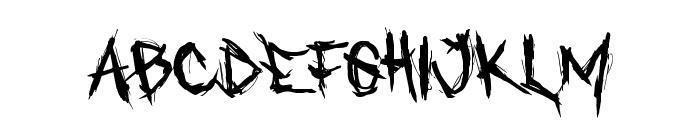 Who asks Satan Font LOWERCASE