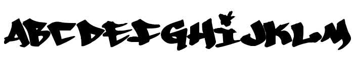 Whoa! Font LOWERCASE