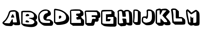 Whypo Font UPPERCASE