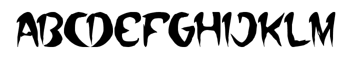 where wolf Font LOWERCASE