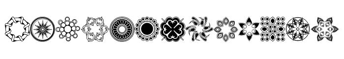 whirlygigs Font LOWERCASE