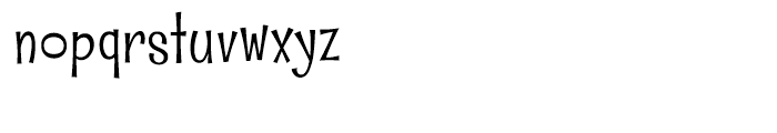 Whipsnapper Light Font LOWERCASE