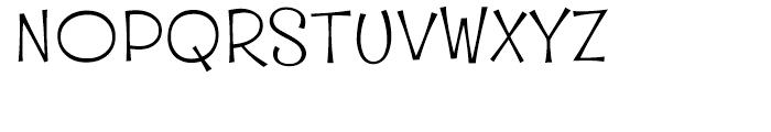 Whipsnapper Wide Light Font UPPERCASE