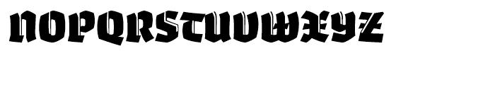 Whisky 1890 Font UPPERCASE