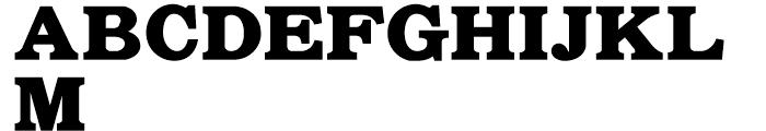 Whitefriars NF Regular Font UPPERCASE