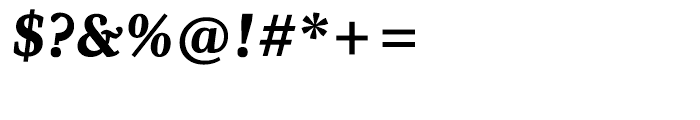 Whitman Black Italic Font OTHER CHARS