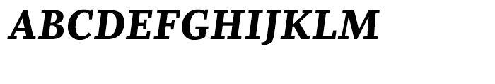 Whitman Black Italic Font UPPERCASE