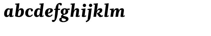 Whitman Black Italic Font LOWERCASE