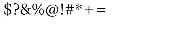 Whitman Roman Font OTHER CHARS
