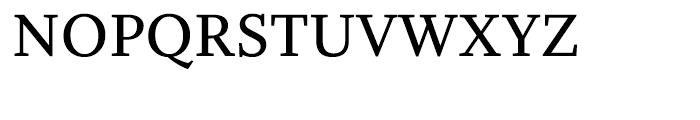 Whitman Semibold Font UPPERCASE