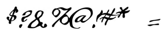 Whitechapel BB Regular Font OTHER CHARS