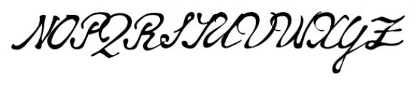 Whitechapel BB Regular Font UPPERCASE