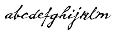 Whitechapel BB Regular Font LOWERCASE