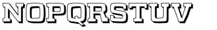 WHAT SOUND XTSHADS Font UPPERCASE