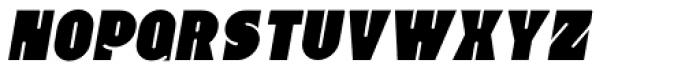 Whangarei Italic Font UPPERCASE