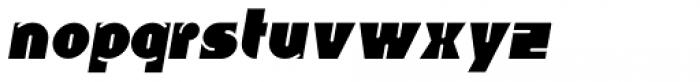 Whangarei Italic Font LOWERCASE