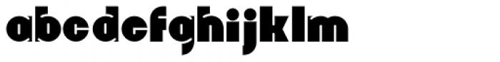 Whangarei Font LOWERCASE