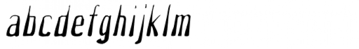 What The Hell Oblique Font LOWERCASE