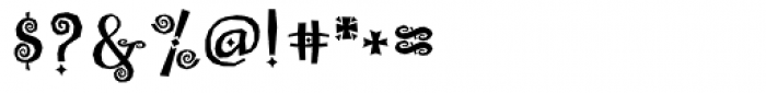 Whimsy Baroque ICG Bold Font OTHER CHARS