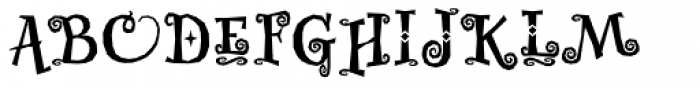Whimsy Baroque ICG Bold Font UPPERCASE