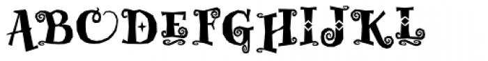 Whimsy Baroque ICG Heavy Font UPPERCASE