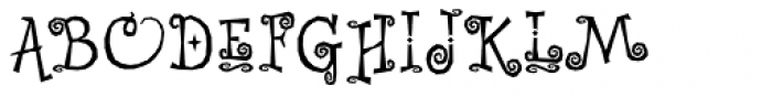 Whimsy Baroque ICG Font UPPERCASE