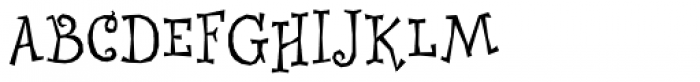Whimsy ICG Font UPPERCASE
