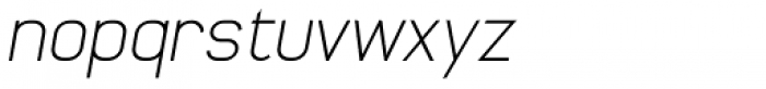 Whinter2 Fat Oblique Font LOWERCASE
