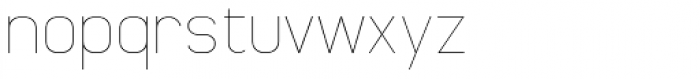 Whinter2 Thin Font LOWERCASE