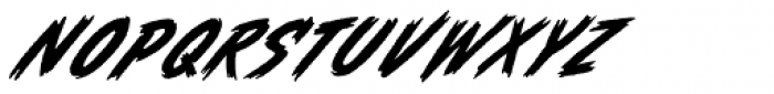 Whiphand Font LOWERCASE
