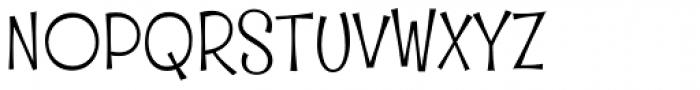 Whipsnapper Light Font UPPERCASE