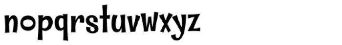 Whipsnapper Medium Font LOWERCASE