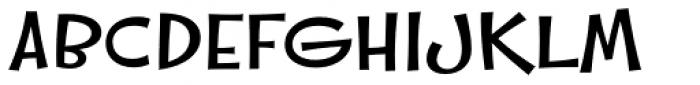 Whipsnapper Wide Medium Font UPPERCASE