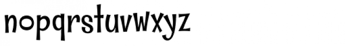 Whipsnapper Font LOWERCASE