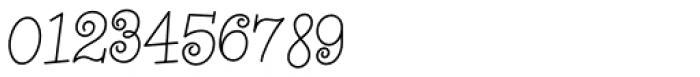 Whirled Peas NF Font OTHER CHARS