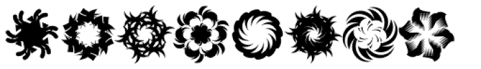 Whirligig One Font UPPERCASE