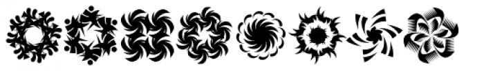 Whirligig One Font LOWERCASE