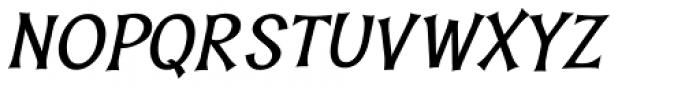 Whisk Bold Italic Font UPPERCASE