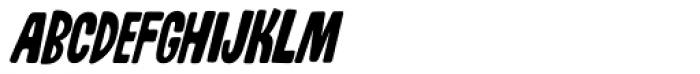 Whiskers Alt Caps AOE Oblique Font UPPERCASE