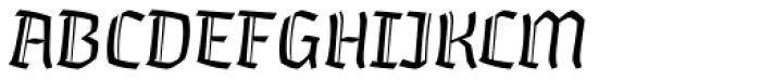 Whisky 1340 Italic Font UPPERCASE
