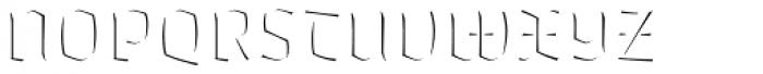 Whisky 1560 Fill Font UPPERCASE