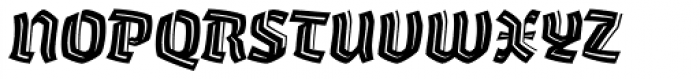 Whisky 1780 Inline Italic Font UPPERCASE