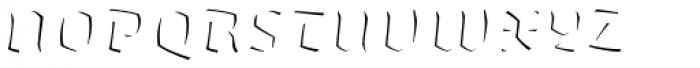 Whisky 1890 Fill Italic Font UPPERCASE