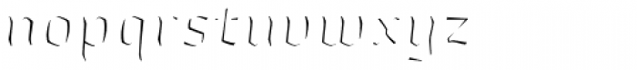Whisky 1890 Fill Italic Font LOWERCASE