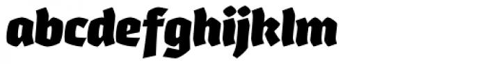Whisky 1890 Italic Font LOWERCASE